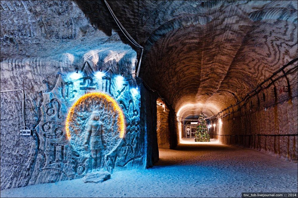 Τα ορυχεία αλατιού Soledar ένα έργο τέχνης