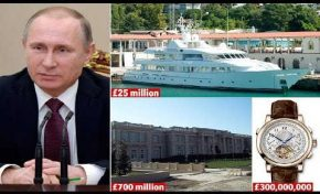 Τα 10 πιο ακριβά πράγματα που διαθέτει ο Πούτιν