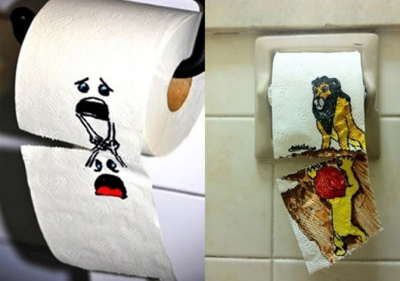 16 απίστευτα αστείες εικόνες σε δημόσιες τουαλέτες